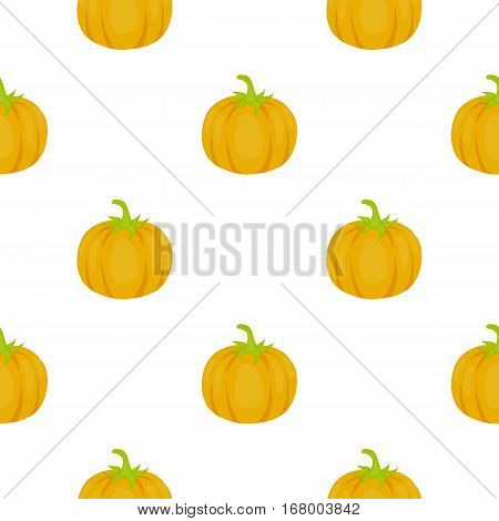 Pumpkin icon cartoon. Singe vegetables icon from the eco food cartoon. - stock vector