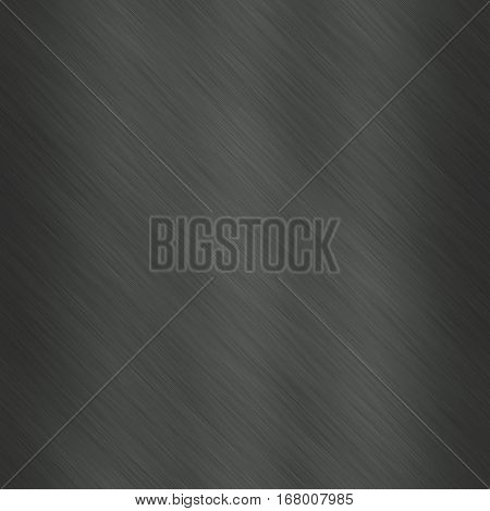 Soft dark grey gray seamless simple metal delicate smooth background