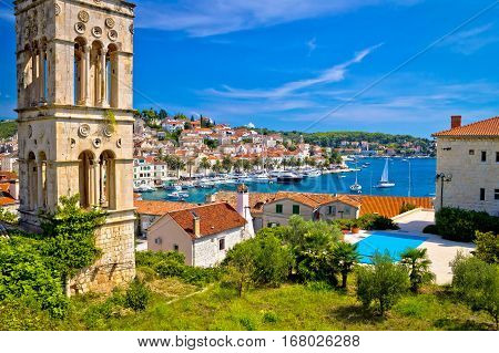 Historic Hvar Architecture And Waterfront View