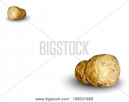 champagne cork left white background logo photorealistic
