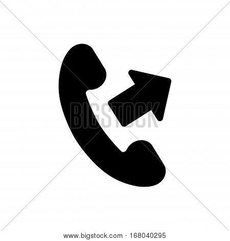 Call answer symbol icon vector illustration graphic design