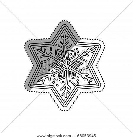 Christmas decorative symbol icon vector illustration graphic design