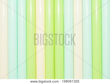 background from multi-colored tubules for a cocktail