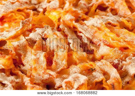 Baked Pasta Closeup