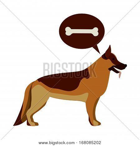 Cute dog pet icon vector illustration graphic design