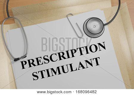Prescription Stimulant - Medical Concept