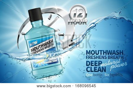 Clean Mouthwash Ad