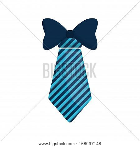necktie bowtie elegant father day vector illustration eps 10