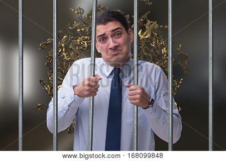 Businessman in prison for monetary fraud