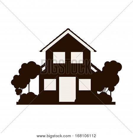 House real estate vector illustration graphic design