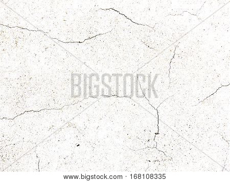 Detail of the cracked stucco - abstract grunge background