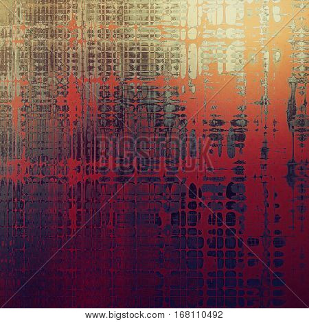Colorful grunge background, tinted vintage style texture. With different color patterns: yellow (beige); brown; gray; red (orange); purple (violet); pink