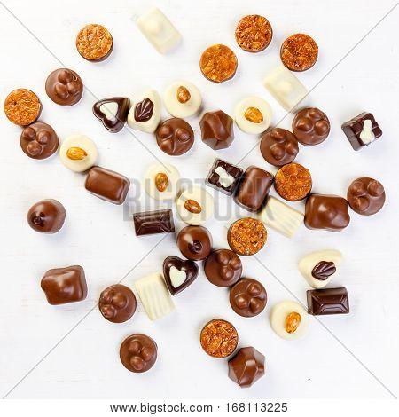 Variety Chocolate Pralines