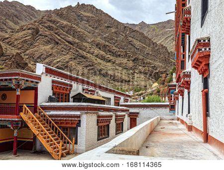 Buddhist Monastery near Leh, Kashmir, India