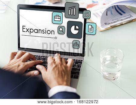 Business Venture Target Goals Expansion Entrepreneur poster