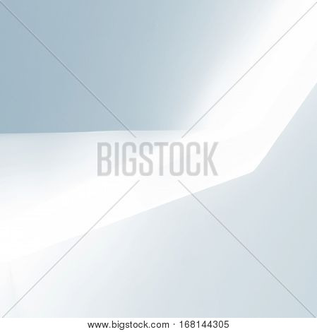 Abstract White Architecture