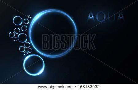 Vector Aqua Background