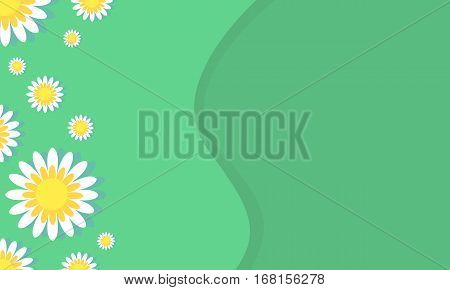 Vector art of spring background collection stock