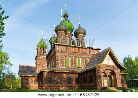 St. John The Baptist Church. Yaroslavl, Golden Ring, Russia.