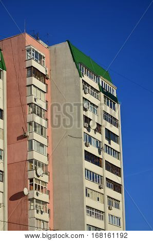 Russian Multi-storey Building