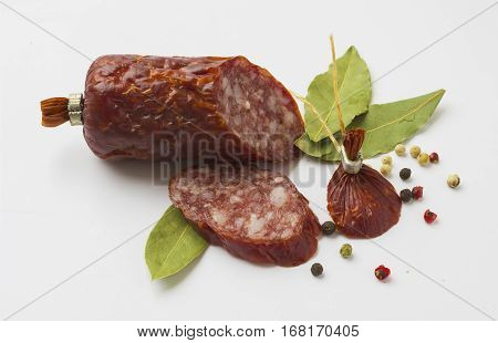 Sliced ​​sausage With Spices