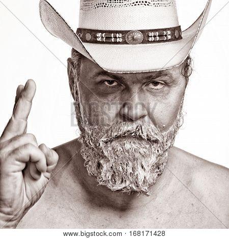 Cowboy Color A Beard