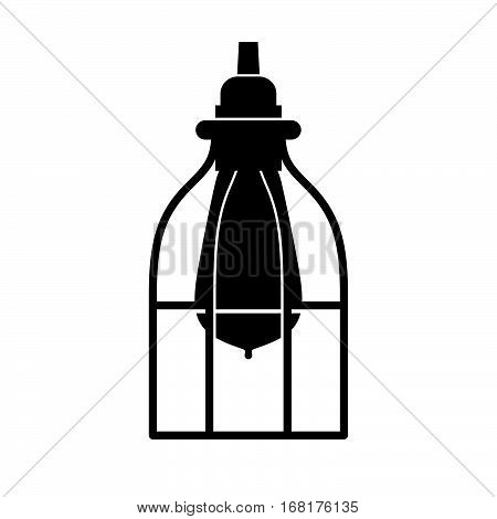 Industrial Caged Lamp ( shade picture )