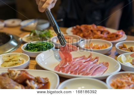 Japanese Or Korean Yakiniku Style Restaurant