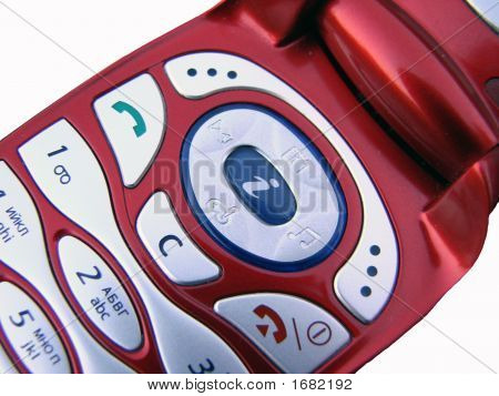 Red Mobile Phone
