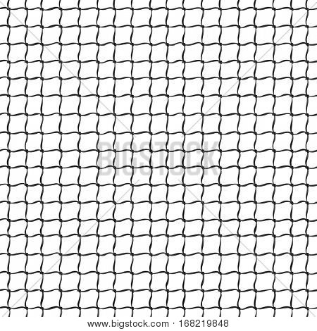 Tennis Net seamless pattern vector illustration