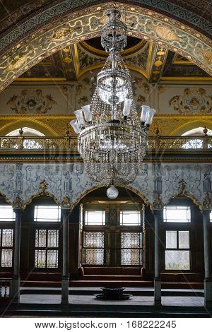 Interior Of Imperial Hall In Topkapi Palace