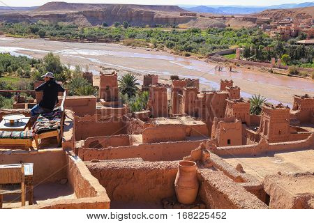 Ait Benhaddou Rooftop Cafe