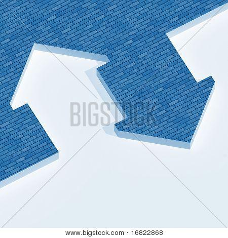 fine image 3d og house metaphor background