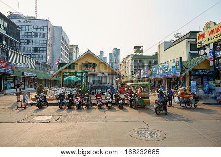 PATTAYA, THAILAND - CIRCA FEBRUARY, 2016: Pattaya at daytime. Pattaya is a resort city in Thailand.