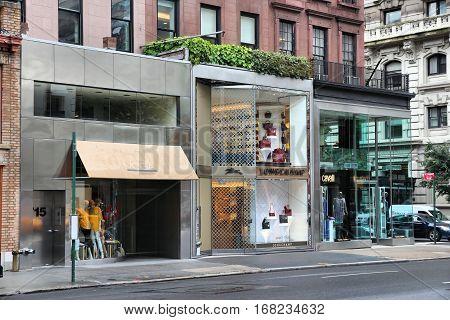 New York Fashion Shops