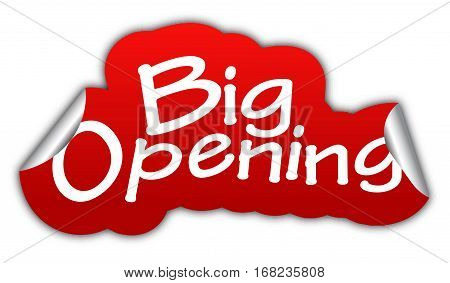 opening big opening sticker big opening red sticker big opening red vector sticker big opening big opening eps10 design big opening sign big opening big open
