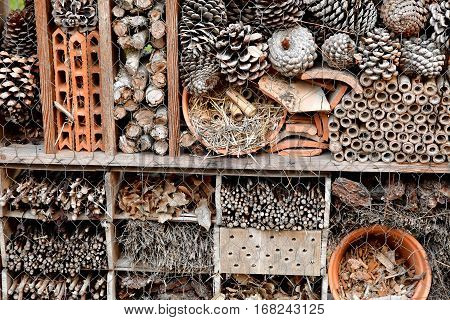 La Flotte France - september 27 2016 : an insect hotel