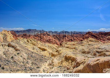 Fire Canyon / Silica Dome, Nevada, USA
