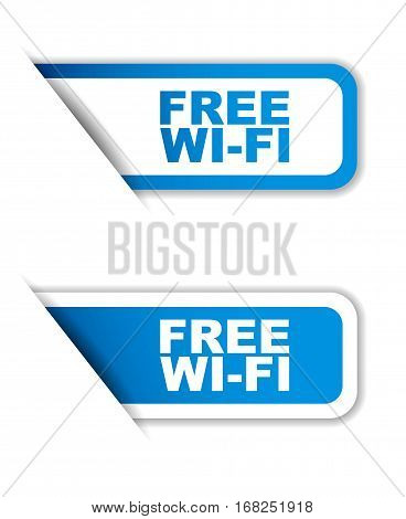 free wi-fi sticker free wi-fi blue sticker free wi-fi blue vector sticker free wi-fi set stickers free wi-fi design free wi-fi sign free wi-fi free wi-fi eps10