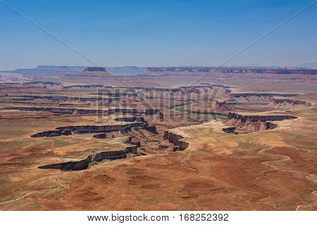 Cleft in Canyonlands  National Park, Moab Utah USA