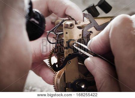 watch clock repair