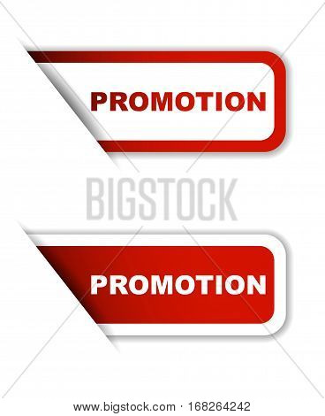 promotion sticker promotion red sticker promotion red vector sticker promotion set stickers promotion design promotion sign promotion promotion eps10