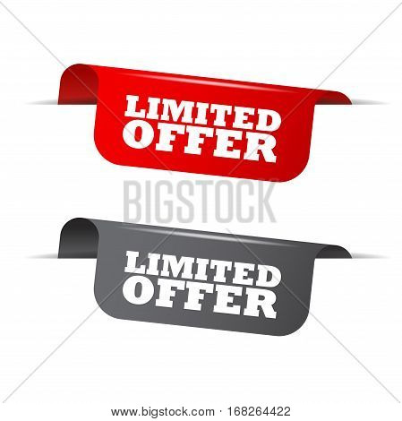 limited offer element limited offer red element limited offer gray element limited offer vector element limited offer set elements limited offer design limited offer sign limited offer limited offer eps10