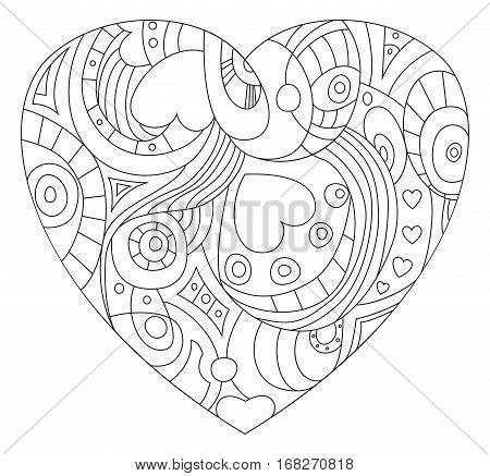 The symbol of St. Valentine's Day - Heart image