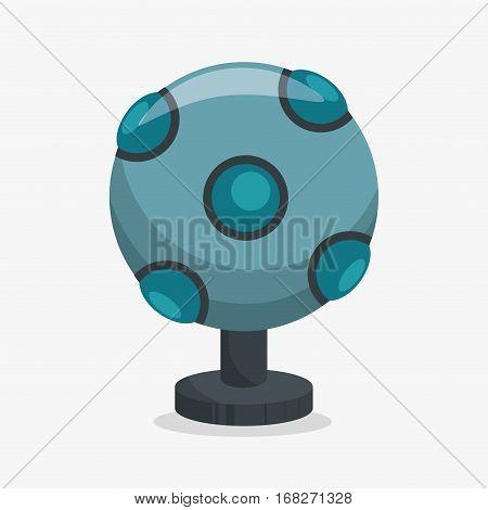 Augmented reality sensor technology icon vector illustration design