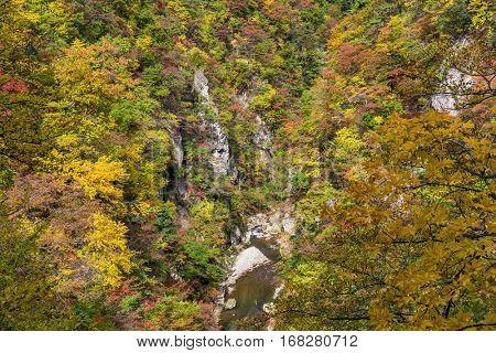 Naruko Gorge in Japan