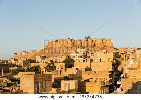 Jaisalmer city in India