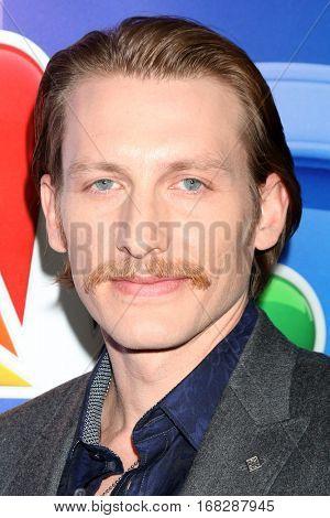 LOS ANGELES - JAN 18:  James Landry Hebert at the NBC/Universal TCA Winter 2017 at Langham Hotel on January 18, 2017 in Pasadena, CA