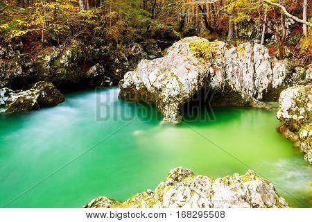 River Mostnica (mostnice Korita) And Elephant Formation
