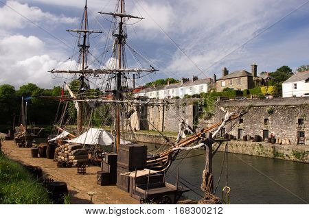 Charlestown, Cornwall, Great Britain